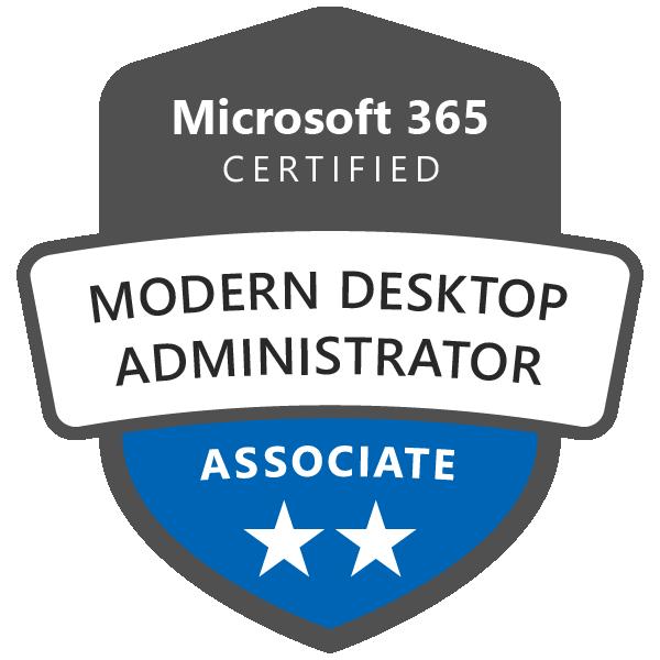 Microsoft 365 Certified: Modern Desktop