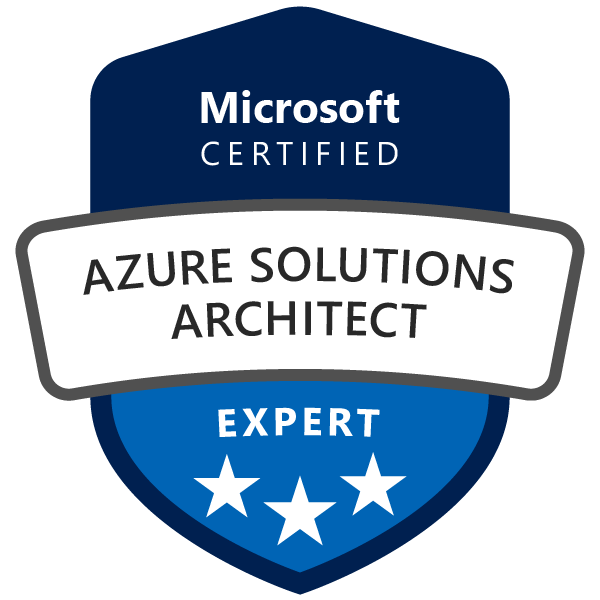 Azure Solutions Architect - Expert
