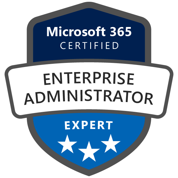 Microsoft 365 Enterprise Administrator Expert
